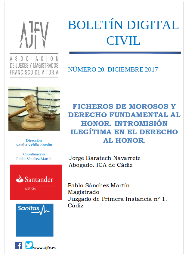 Boletín Civil Diciembre 2017