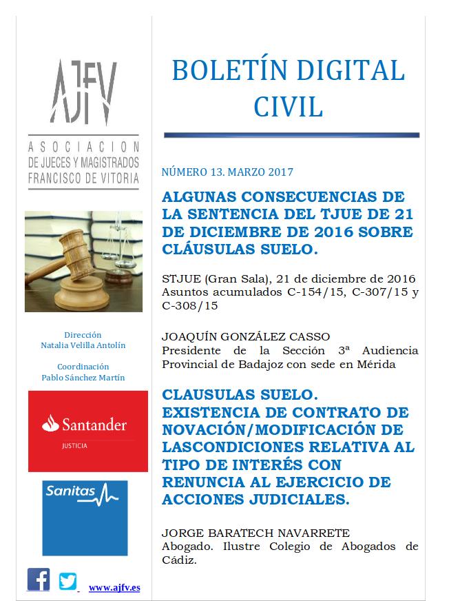Boletín Civil Marzo 2017